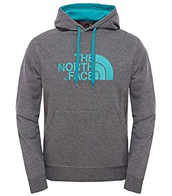 The North FACE Felpa Light Drew Peak Blue Cotone Uomo t0a0te a8u   Amazon.co.uk  Clothing aff63b8f1cf7