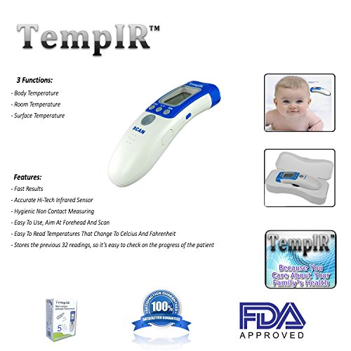 TempIR Body Temperature Thermometer