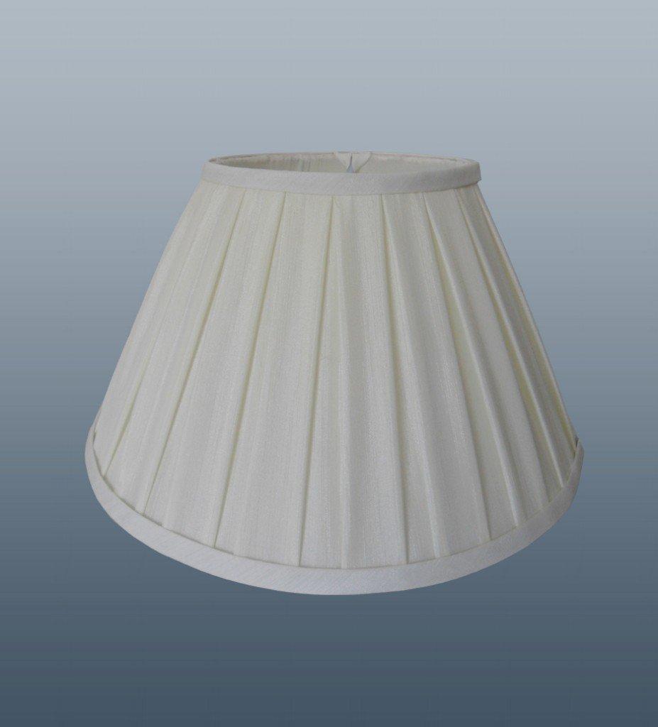 Enya 8 light cream box pleat lampshade amazon lighting mozeypictures Images