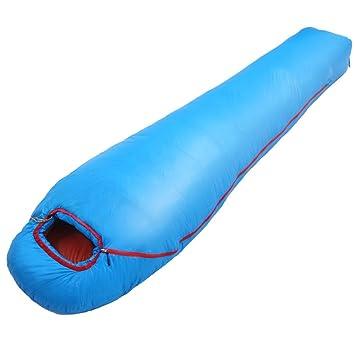 LWFB Saco de dormir momia / Saco de dormir de plumón / Impermeable ligero / Adulto