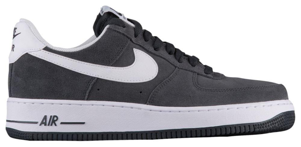 [ナイキ] Nike Air Force 1 Low - メンズ バスケット [並行輸入品] B071ZJ2DFW US15.0 Anthracite/white