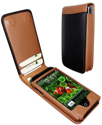 Piel Frama 982 Two-Tone Magnetic Leather Case for Apple iPhone 3G / 3GS