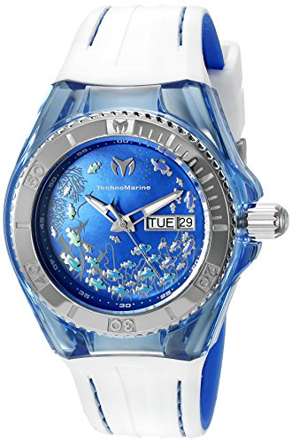 Technomarine Women's TM-115116 Cruise Dream Analog Display Swiss Quartz White Watch