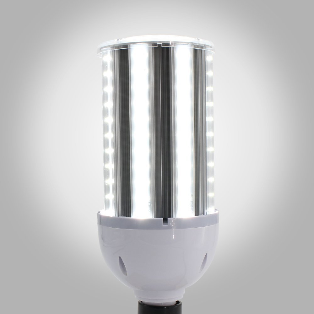 12500Lm Daylight White 6500K for Indoor Outdoor Large Area Light Large Mogul E39 Base YGS-Tech 120W LED Corn Light Bulb for Street Lamp Post Lighting Garage Factory Warehouse Garden Super Bright