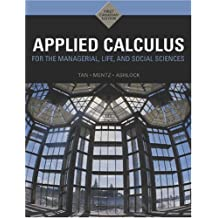 By Tan/Ashlock/Menz - Applied Calculus for the Managerial Life & Social Sciences: A Brief Approach