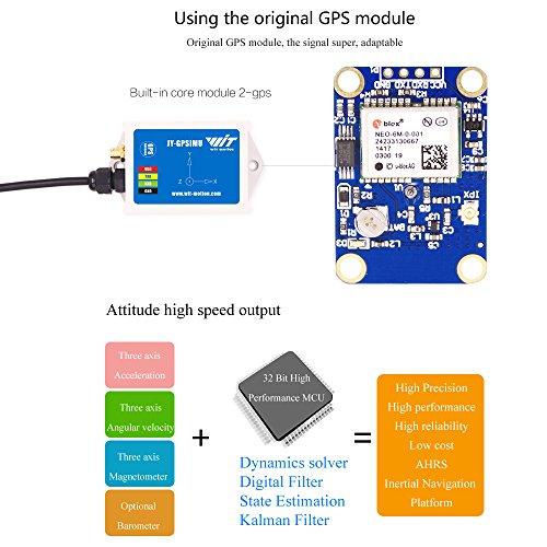 WTGAHRS1 10 Axis High Accuracy IMU + GPS Sensor 3 Axis