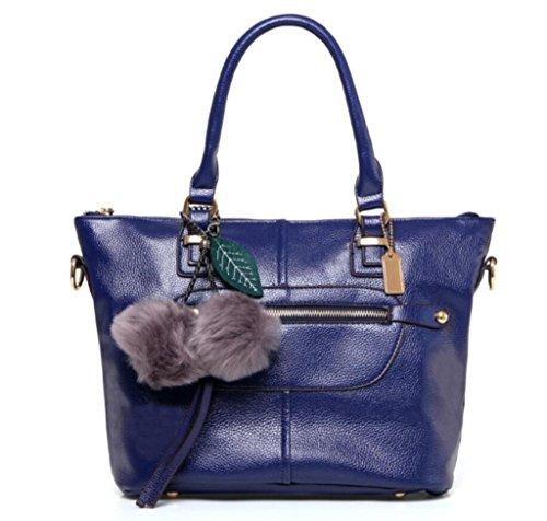 spalla di borsa della diagonale borsa borsa blue multi di spalla di della scompartimento della della della NVBAO della blue borsa acquisto Sacchetto della borsa unica borsa E6qwxX