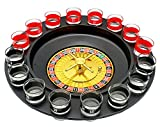 Hestio Shot Glass Roulette Alcohol Drinking Game Set