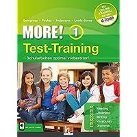 MORE! 1 Test-Training: Mit App für Audios und Access Code für Online-Training (Helbling Languages)