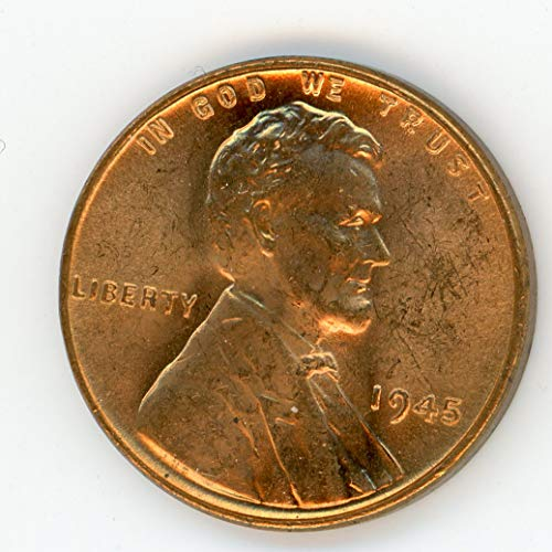 1945 Lincoln Red Cent MS-65