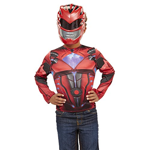 Power Rangers Movie Red Ranger Dress Up (Mighty Morphin Power Rangers Costumes)