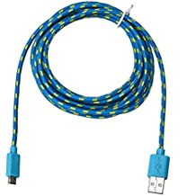 YJYdada 1M/10FT Micro USB Charger Sync Data Cable Cord for Cell Phone (blue)