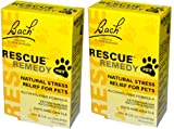 Bach Flower Essences Rescue Remedy Pet (10 ml X 2)