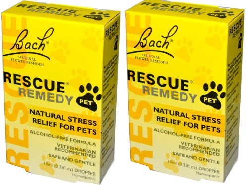 Bach Flower Essences Rescue Remedy Pet (10 ml X 2)