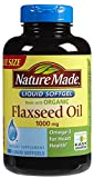 Nature Made Flaxseed Oil 1,000 mg Softgels, 180 ct For Sale