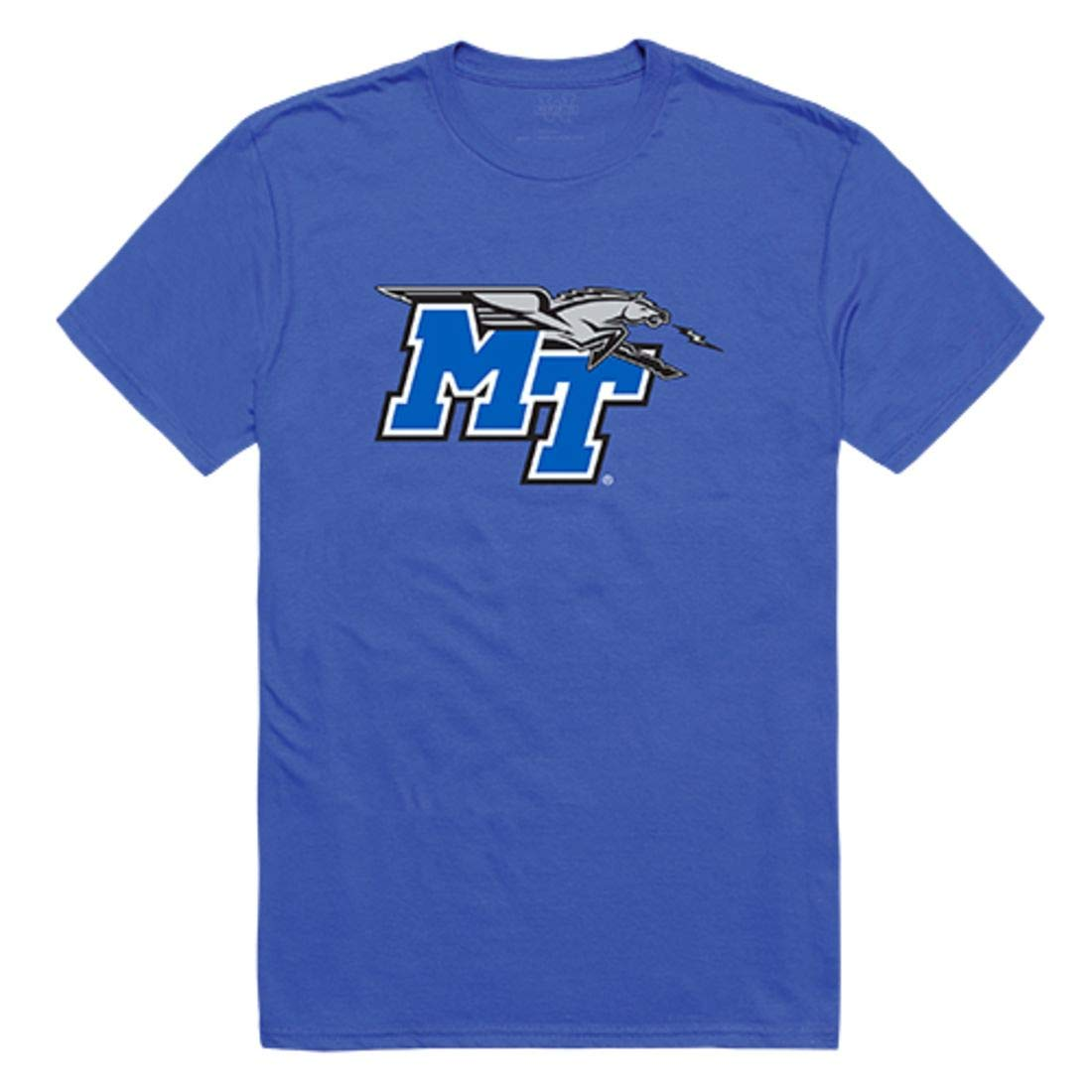Middle Tennessee State University Blue Raiders Freshman Tee T Shirt Royal