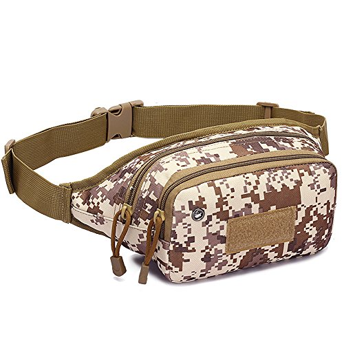 Anne Hombres de pie de equitación deportes al aire libre Correr bolsillos pecho bolsa Camping bolsa de hombro Diseño 1