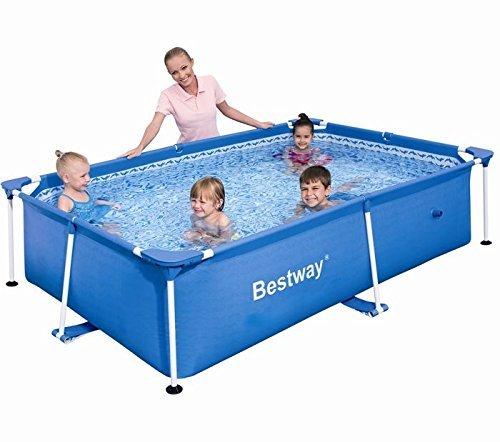Bestway-56041-Frame-Pool-Stahlrahmenbecken-Splash-Jr-239-x-150-x-58-cm