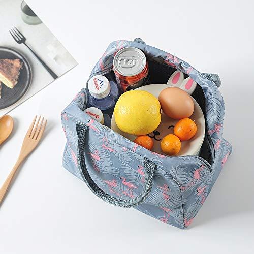 SLOSH 2 Bolsa Termica Comida Trabajo Almuerzo Porta Alimentos Infantil Ni/ños Oficina Bolsa Calor Hombres Mujer