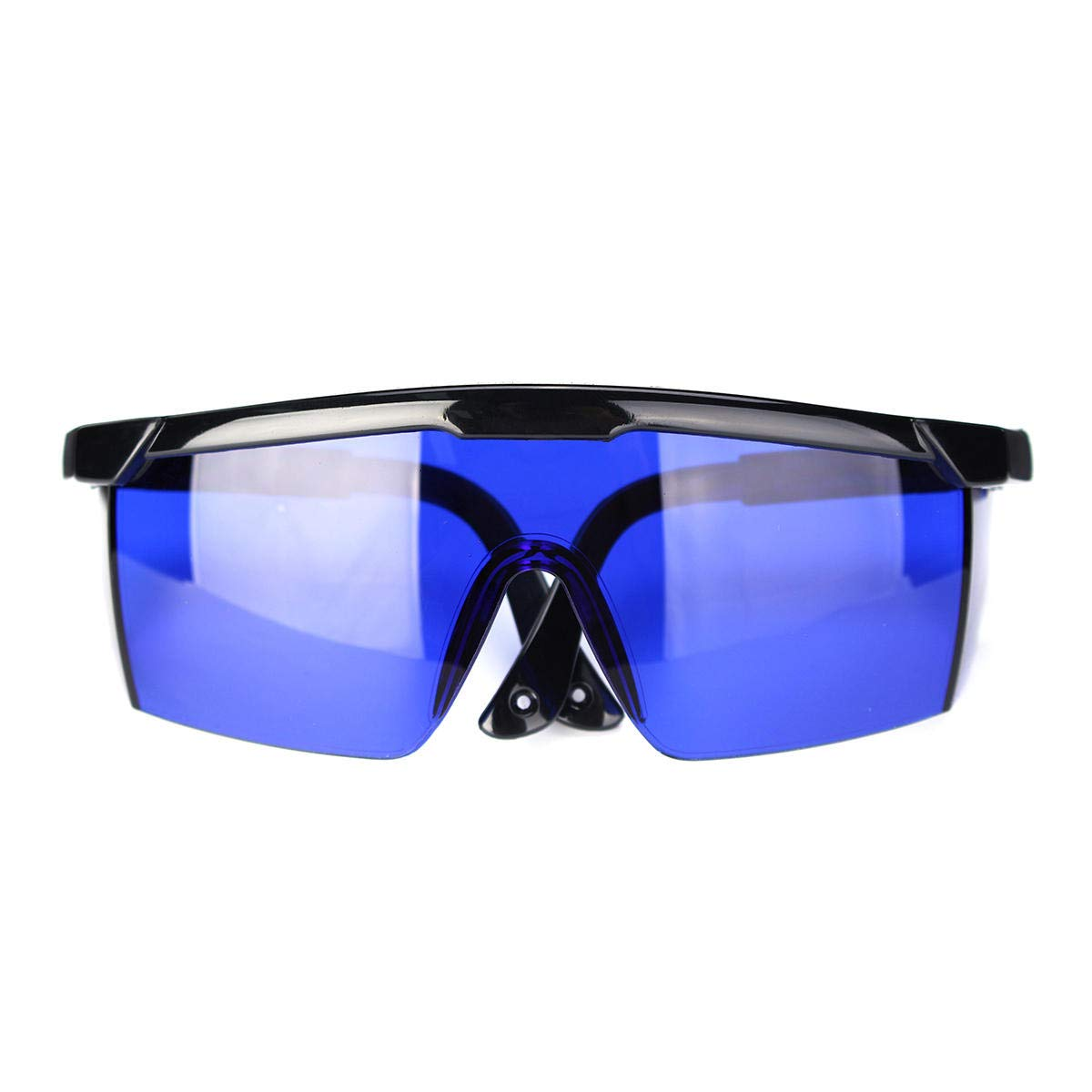 Golf Finder Locating Glasses Protection Goggles Blue Lens Less Straining Sunglasses with Box - Safety & Protective Gear Goggles - 1 x Glasses, 1 x Glasses box, 1 x Cleaning cloth