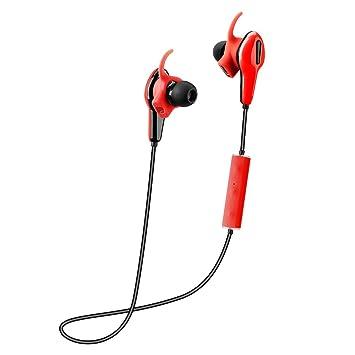 Docooler 520 Auriculares estéreo inalámbrico, App control Bluetooth 4.0, CSR8645 Frecuencia Cardíaca podómetro, IP55 In-Ear auricular manos libres con ...