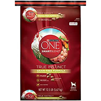Purina ONE SmartBlend True Instinct Nutrient Dense Formula Dry Dog Food