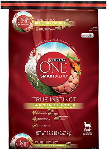 Purina ONE SmartBlend True Instinct Grain Free Nutrient-Dense Nutrient Dense Formula Dry Dog Food