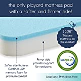 hiccapop Tri-fold Pack n Play Mattress Pad with