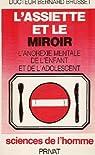 L'assiette et le miroir par Brusset