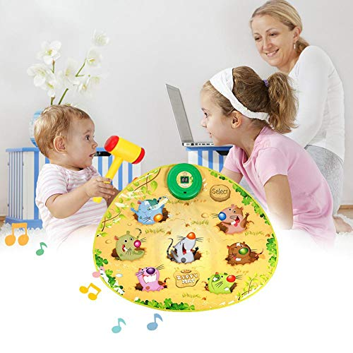 Zigtee Children's Toy Whac a Mole Game Dance Mat Puzzle Music Pad by Zigtee (Image #7)