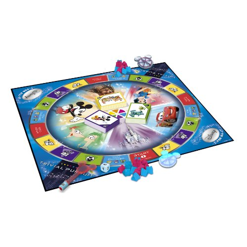 Trivial Pursuit Disney For All Edition (Best Version Of Trivial Pursuit)