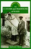 Front cover for the book The Customs and Traditions of Wales by Trefor M. Owen