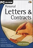 Personal Letters & Contracts