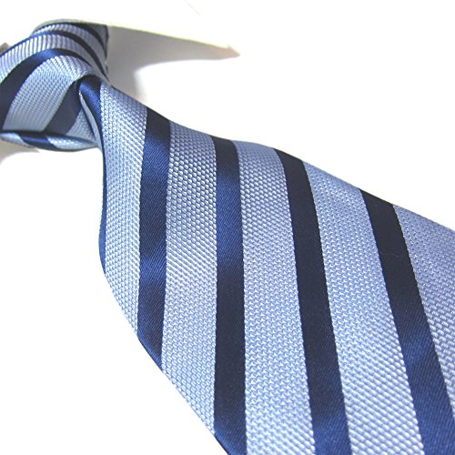 Extra Long Fashion Tie Multicolor Striped Men's Necktie 63'