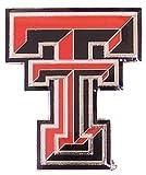 aminco NCAA Texas Tech Red Raiders Logo Pin