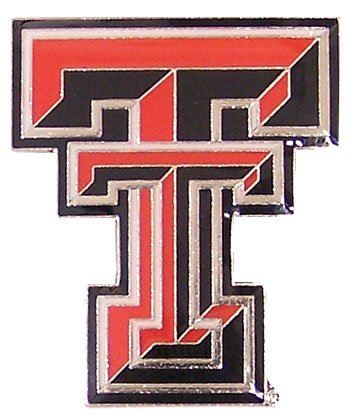 NCAA Texas Tech Red Raiders Logo Pin (Raiders Logo Pin)