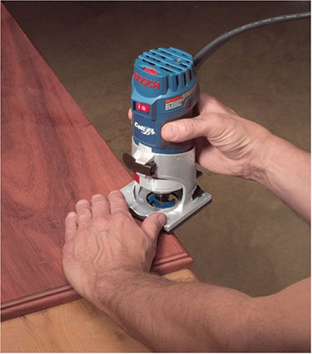 Bosch Colt Palm Grip PR20EVSK 5.6 Amp 1-Horsepower Fixed-Base Variable-Speed Router with Edge Guide by Bosch (Image #6)