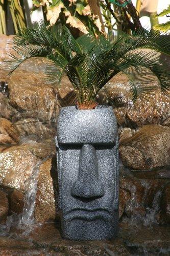 Sm Easter Island Planter (Grey Granite) Island Planter
