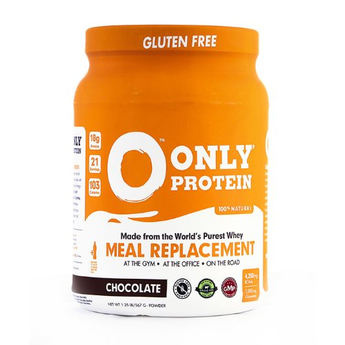 ONLY PROTEIN Chocolate Meal Replacement Jug