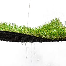 Turf Artificial Lawn Fake Grass Indoor Outdoor Landscape Pet Dog Area (24X20 in)