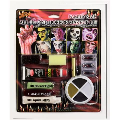 Fun World Family Size All In One Horror Kit -
