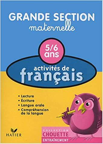 Amazon Fr Activites De Francais 5 6 Ans Grande Section
