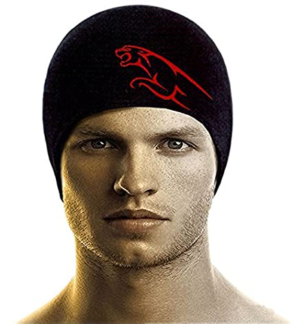 Bikers Gear Anti-Pollution Skull Cap (Black 2551d025f8e1