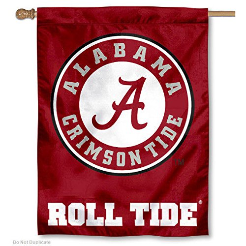 Pole Ncaa Merchandise (Alabama Crimson Roll Tide Banner House)