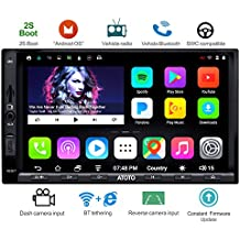 [NEW] ATOTO A6 2DIN Android Car Navigation Stereo with Dual Bluetooth - Standard A6Y2710SB 1GB+16GB Car Entertainment Multimedia Radio,WiFi/BT Tethering internet,support 256G SD &more