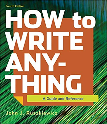 how to write anything 4th edition pdf