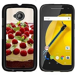 """For Motorola Moto E2 / E 2nd gen , S-type Naturaleza Hermosa Forrest Verde 46"""" - Arte & diseño plástico duro Fundas Cover Cubre Hard Case Cover"""
