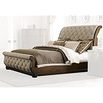 Liberty Furniture Cotswold Queen Sleigh Bed (545-BR-QSL), Cinnamon