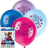 8 DISNEY FROZEN LATEX BALLOONS Kids Birthday Party Decorations & Party Supplies