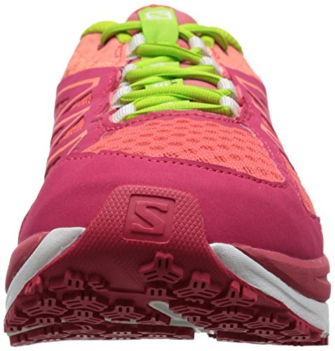 Papaya Rot Rojo Zapatillas Mujer Pulse Pink B Running Green Granny Lotus SalomonSense de 0BxqwU